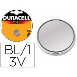Pila duracell alcalina cr2025 blister 1 boton