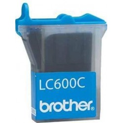CARTUCHO TINTA CYAN BROTHER LC600C ORIGINAL