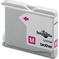 CARTUCHO TINTA MAGENTA BROTHER LC970M ORIGINAL