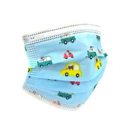 Mascarillas Higienicas Infantiles Protectoras Desechables - 3 Capas - Pack 50