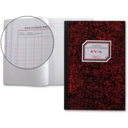 Libro miquelrius cartone 3019 folio 50 hojas registro de facturas recibidasn.65