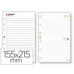 Recambio agenda finocam 1000 anualidad dia pagina 155x215 mm texto en catalan