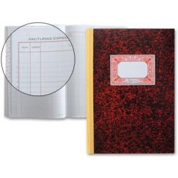 Libro miquelrius cartone 3018 folio 50 hojas registro de facturas emitidas n.64