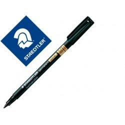Rotulador staedtler lumocolor retroproyeccion punta de fibra permanente special 319-9 negro punta media