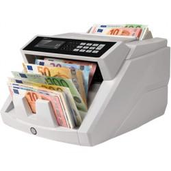 Detector contador de billetes falsos safescan 2465s 7 puntos de verificacion funcion añadir y de fajos