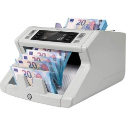 Contador de billetes safescan 2210 deteccion ultravioleta y tamaño velocidad 1000 billetes/minuto con funcion
