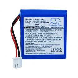 Bateria de litio safescan lb-105 recargable para safescan 155-s