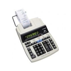 Calculadora canon impresora mp120 mg es ii pantalla lcd enchufe corriente 12 digitos color gris