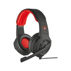 Auricular trust gxt 310 radius gaming con microfono ajustable cable 1 m