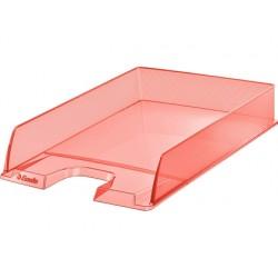 Bandeja sobremesa esselte plastico colour ice color albaricoque 254x61x350 mm