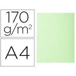 Subcarpeta cartulina reciclada exacompta din a4 verde claro 170 gr