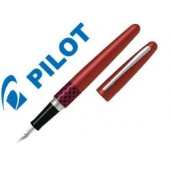 Pluma pilot urban mr retro pop rojo con estuche y bolsa