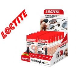 Masilla reparadora loctite kintsu glue expositor 16 unidades 8 blancas y 8 negras
