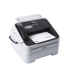 Fax brother 2845 laser monocromo 20 ppm bandeja 250 hojas 16 mb de memoria 33600 bps con auricular telefonico