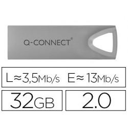 Memoria usb q-connect flash premium 32 gb 2.0