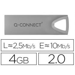 Memoria usb q-connect flash premium 4 gb 2.0