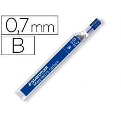 Minas staedtler mars micro grafito 0,7 mm b tubo con 12 unidades