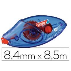 Pegamento tesa roller permanente ecologico desechable 8,4 mm x 8,50 m