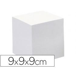 Taco papel quo vadis encolado blanco 680 hojas 100% reciclado 90 g/m2 90x90x90 mm
