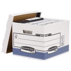 Cajon fellowes carton reciclado para almacenamiento de archivo capacidad 4 cajas de archivo tamaño din a4