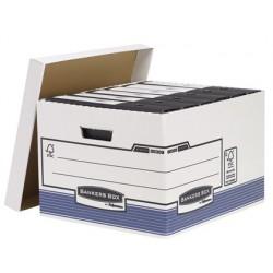 Cajon fellowes carton reciclado para almacenamiento de archivo capacidad 4 cajas de archivo tamaño folio