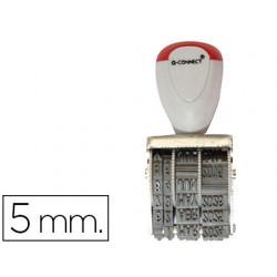 Fechador q-connect con banda includi dia-mes-año 5mm