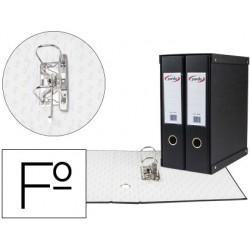 Modulo pardo 2 archivadores de palanca folio 2 anillas de 70 mm negro 350x180x300 mm