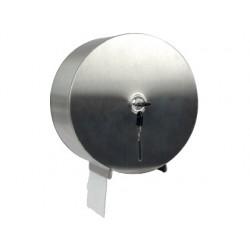 Dispensador q-connect de papel higienico jumbo acero inoxidable 115x254x265 mm