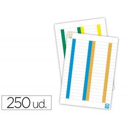 Tira de papel para visores pack de 380 etiquetas