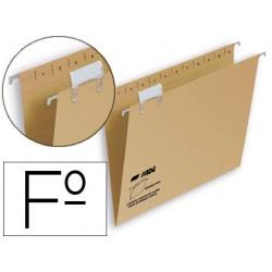 Carpeta colgante hamelin folio visor superior kraft eco