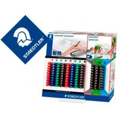 Rotulador staedtler lumocolor retroproyeccion 317-318 expositor de 80 unidades colores surtidos + 30