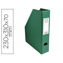 Revistero exacompta pvc lomo 70mm color verde 230x310x70 mm