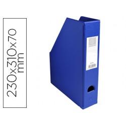 Revistero exacompta pvc lomo 70mm color azul 230x310x70 mm