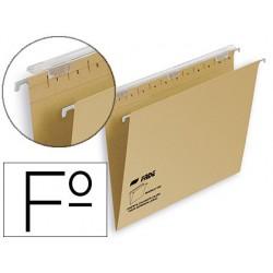Carpeta colgante fade tiki folio visor superior 290 mm efecto lupa kraft eco 230 g/m lomo v