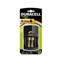 Cargador duracell para pilas recargables cef27 incluye 2 pilas aa y 2 pilas aaa