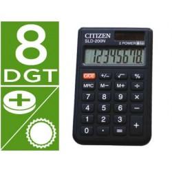 Calculadora citizen bolsillo sld-200n 8 digitos