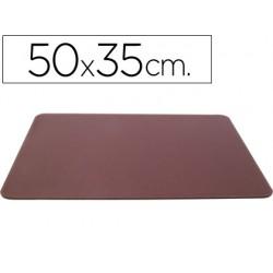 Vade sobremesa polipiel tamaño 35x50 cm fabricado en ubrique