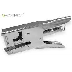 Grapadora q-connect de tenaza capacidad 40 hojas usa grapas 24/6 26/6