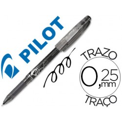 Boligrafo pilot frixion point punta de aguja color negro