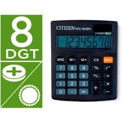 Calculadora citizen sobremesa sdc-805 bn 8 digitos