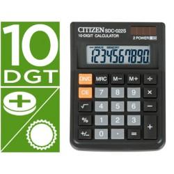 Calculadora citizen sobremesa sdc-022 s 10 digitos