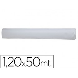 Mantel blanco en rollo 1,20x50 m