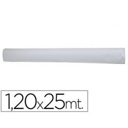 Mantel blanco en rollo 1,20x25 m