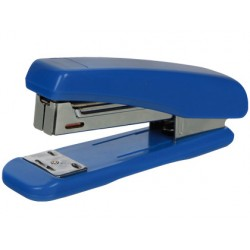 Grapadora q-connect kf11064 plastico azul capacidad 25 hojas