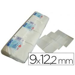 Servilleta mini servis blanca 9x12'2 cms paquete de 400 1 capa