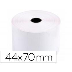 Rollo sumadora electro 44 mm ancho x 70 mm diametro sin bisfenol a