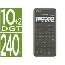 Calculadora casio fx-82msii cientifica 240 funciones pantalla de dos lineas
