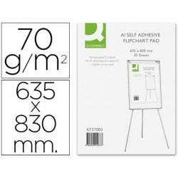 Bloc congreso q-connect papel autoadhesivo 70 gr 635x830