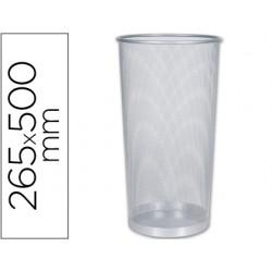 Paraguero metalico q-connect kf00828 rejilla plata -265 diametro x 500 mm