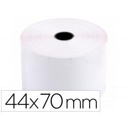 Rollo sumadora termico q-connect 44 mm ancho x 70 mm diametro sin bisfenol a